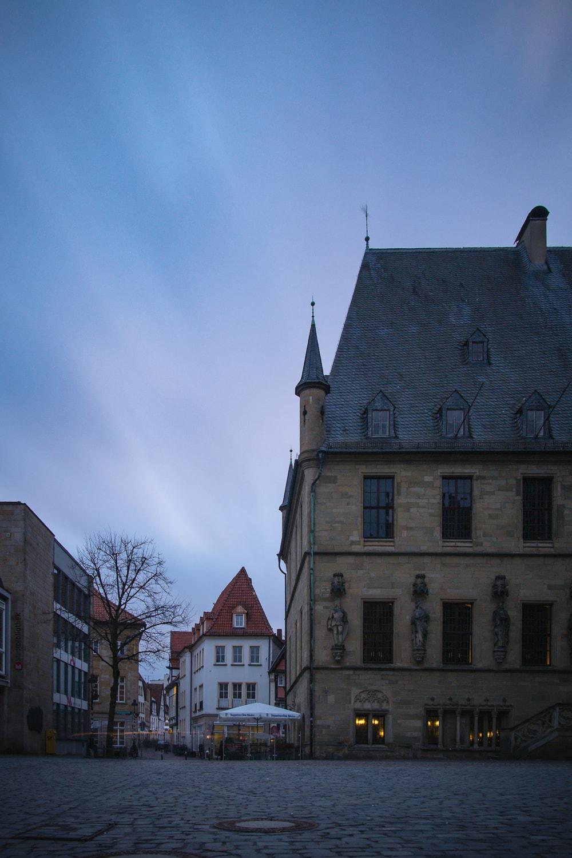 Langzeit 1 - Long Exposure Osnabrück Rathaus Geschichte Altstadt