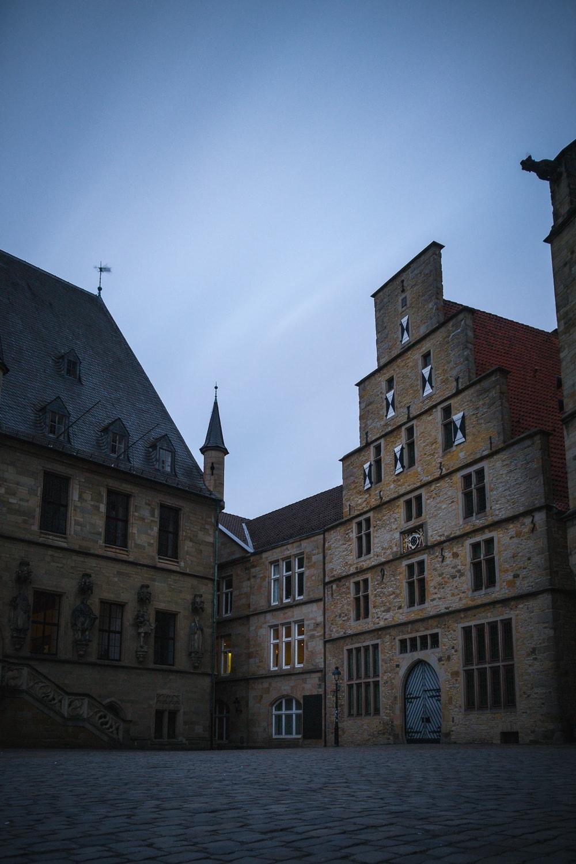 Langzeit Long Exposure Osnabrück Rathaus Geschichte