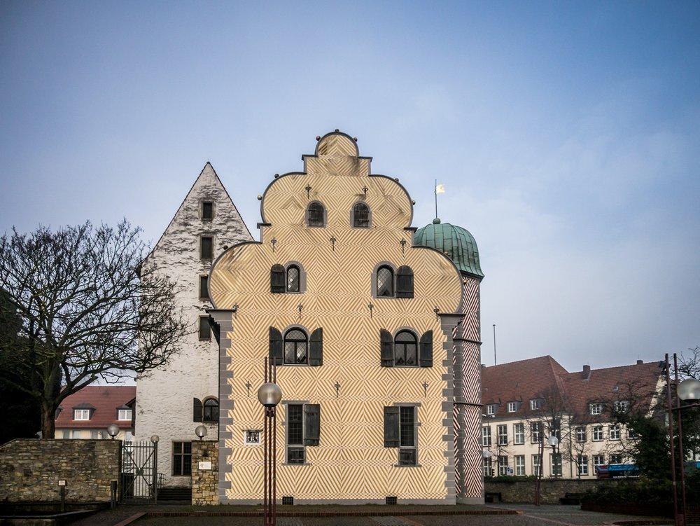Schloss Ledenhof Osnabrück alte Münze