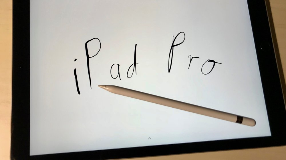 Apple iPad Pro im Studium Apple Pencil.jpg