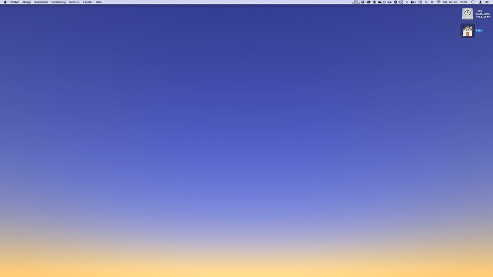 Dynamic Walls Update mit neuen MacOS Mojave Dynamischen Hintergrundbildern
