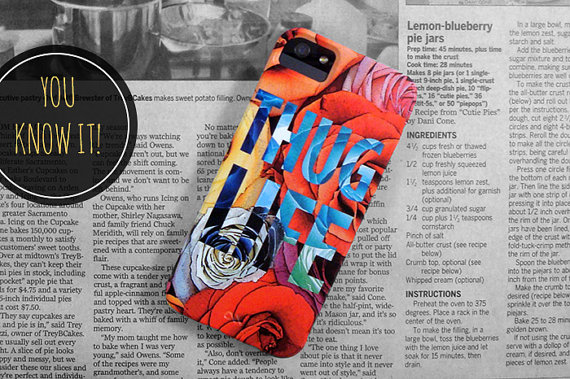 Thug Life // iPhone 5 Case