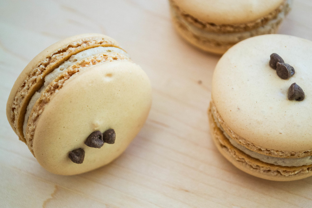 Almond Cookie Dough Macaron 2