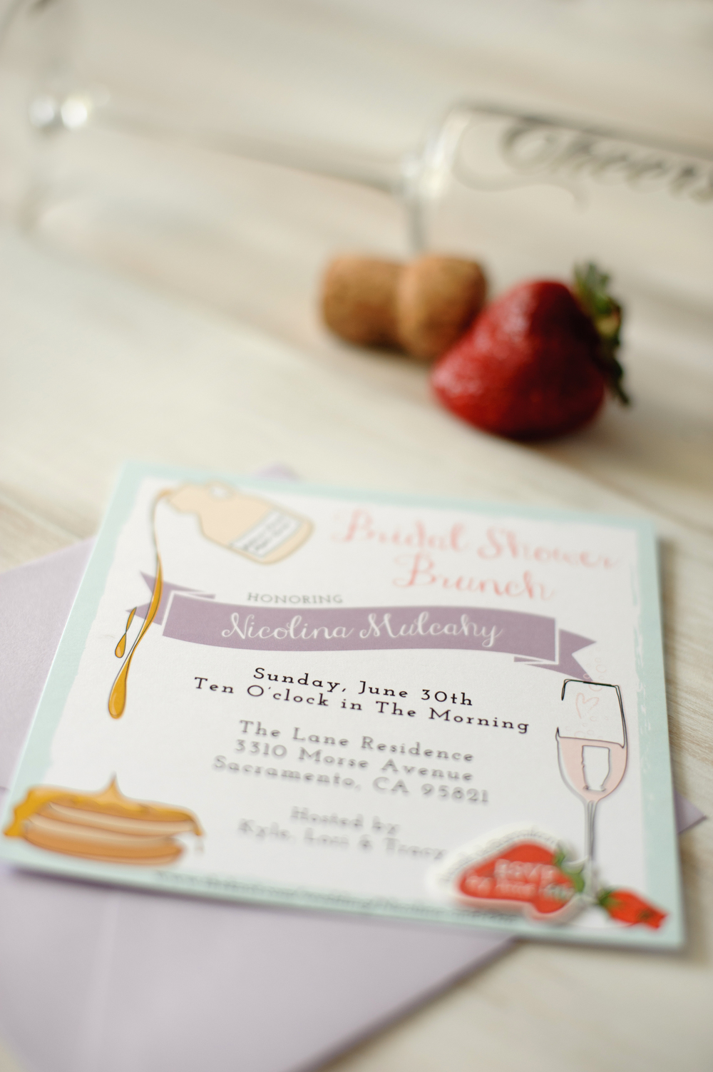 Ladies Who Brunch // Bridal Shower Invitation
