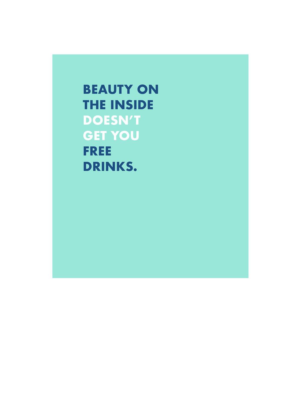 Beauty in Drinks
