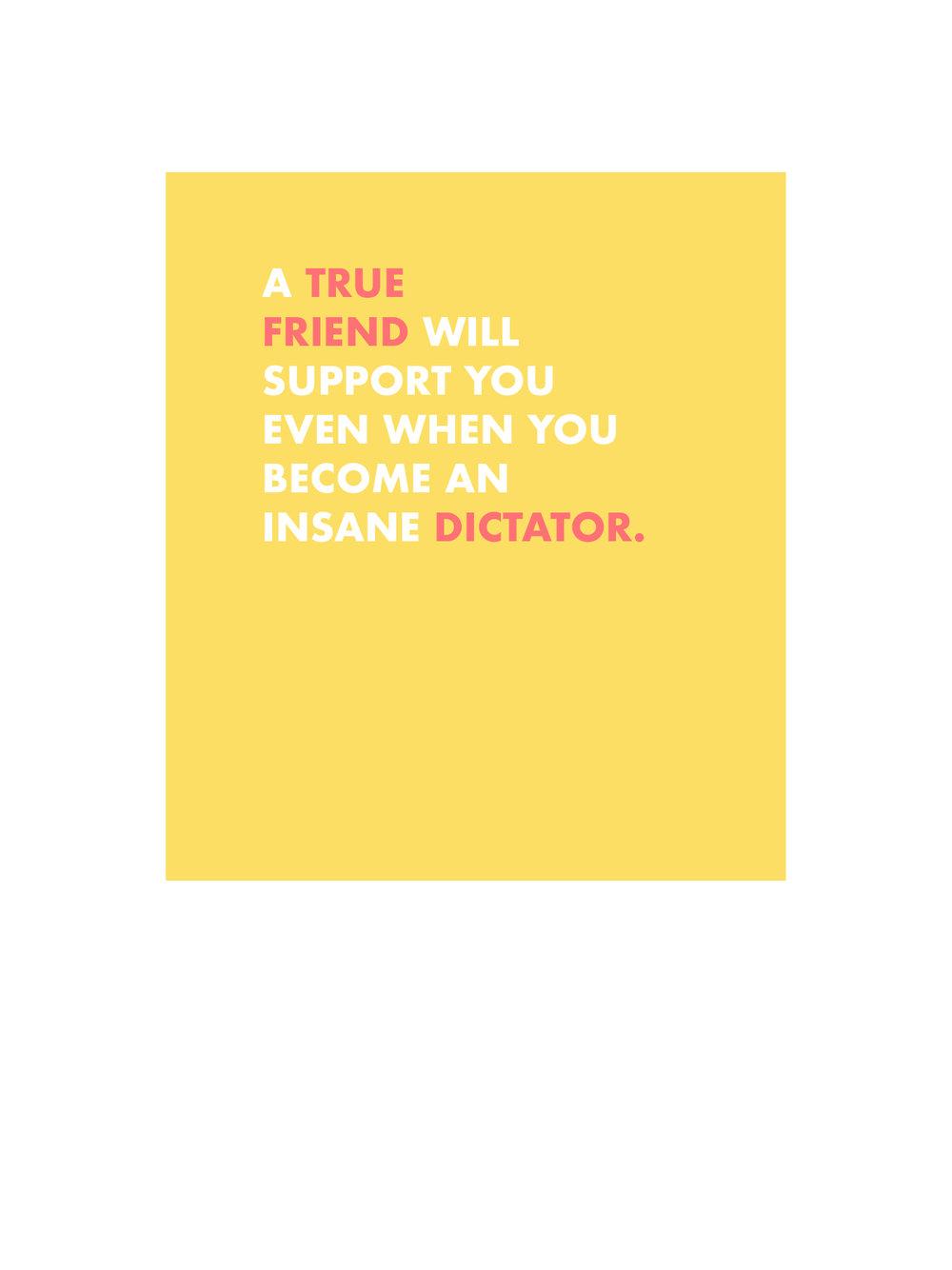 Friend Dictator
