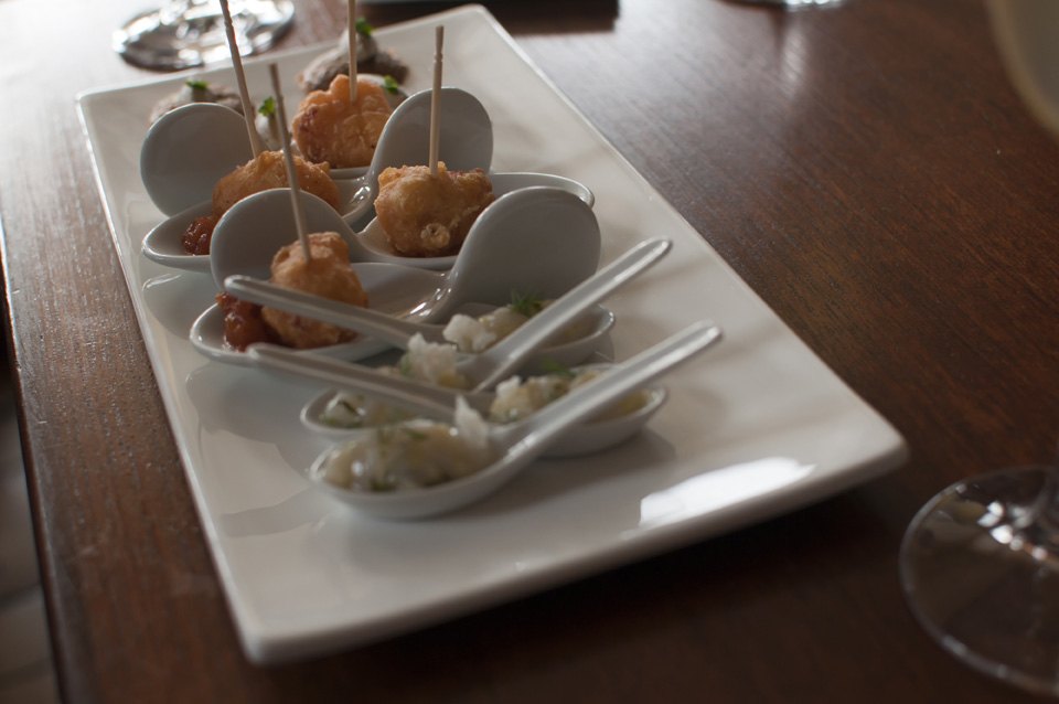 Amuse-bouches at Le Coquillage