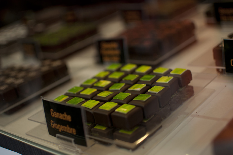 Selection of chocolates by Pascal Pochon