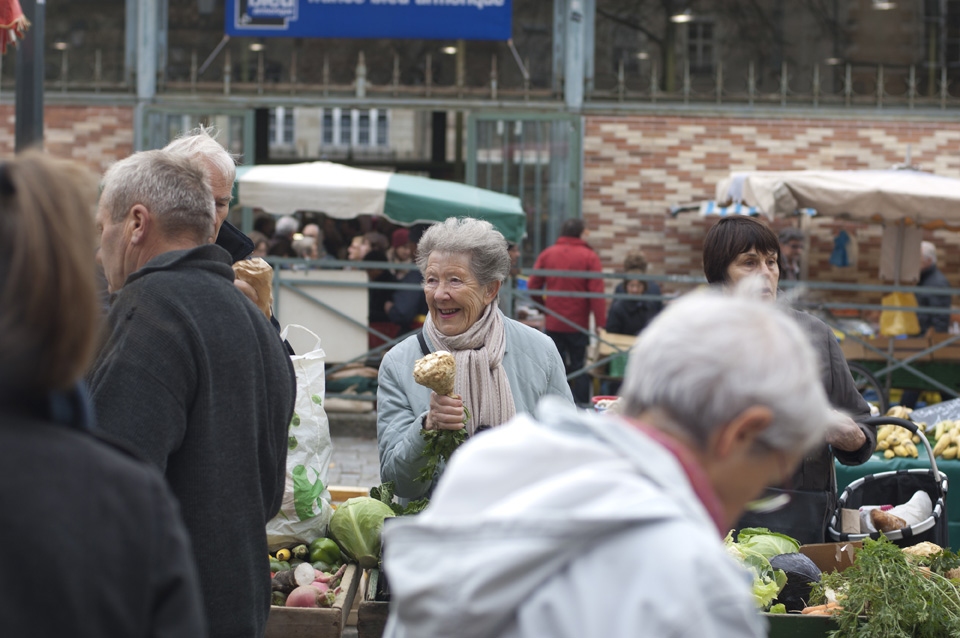 Rennes is the second biggest farmers' market in France