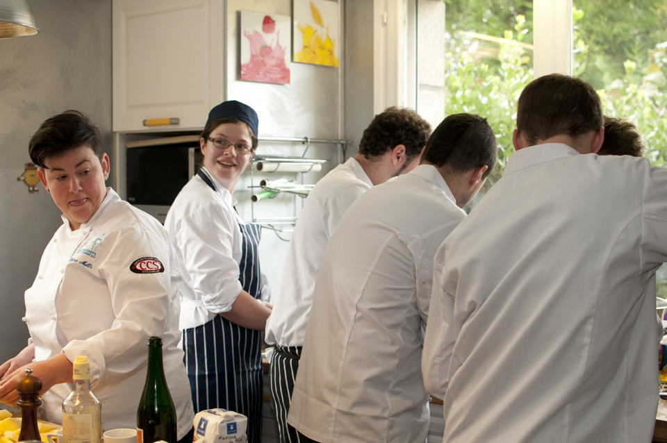 Market challenge, part 2: six Budding Chefs cooking a 'Retour de Marché' lunch at home