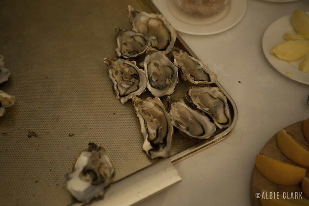 Oysters pain-beurre: A classic