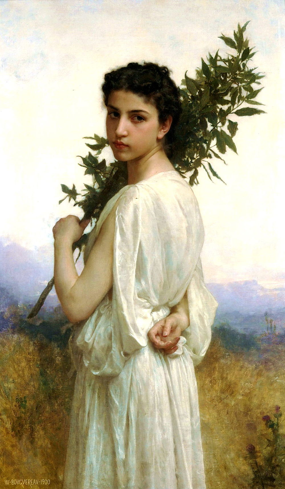 "Bouguereau, ""The Laurel Branch"""