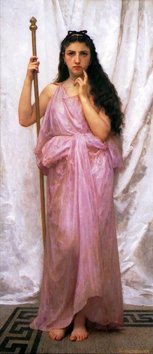 "Bouguereau, ""Priestess"""