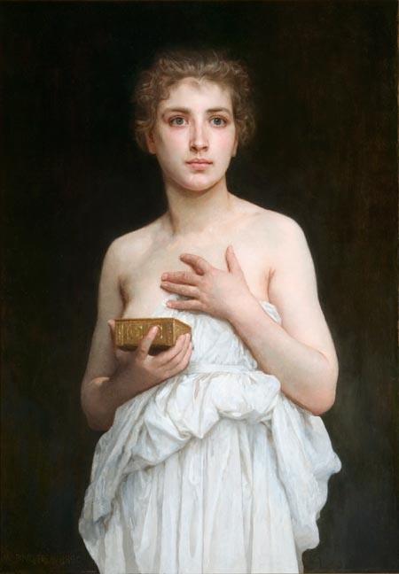 "Bouguereau, ""Pandora"""