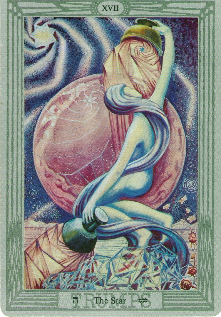 Star card in the Thoth deck