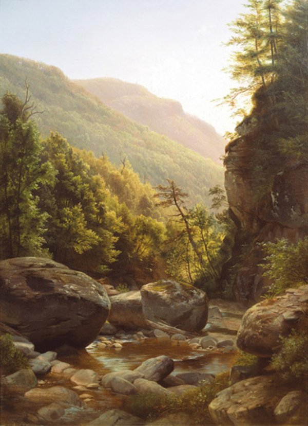 Kaaterskill Clove , by Harriet Cany Peale