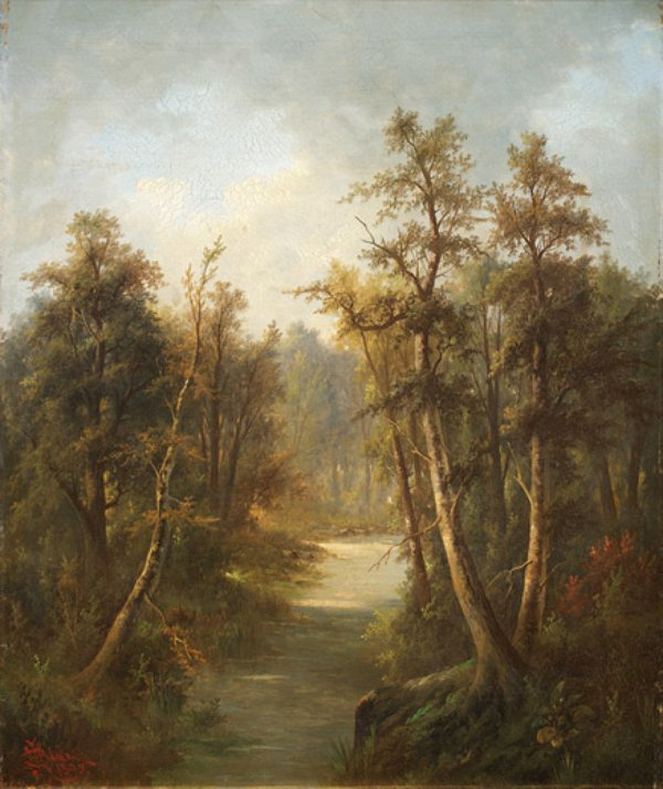 Forest Brook , by Charlotte Buell Coman