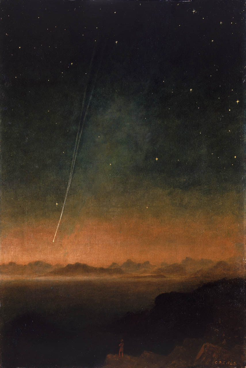 The Great Comet of 1843,  by Charles Piazzi Smith