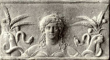 The Chthonic goddess Demeter-Ceres
