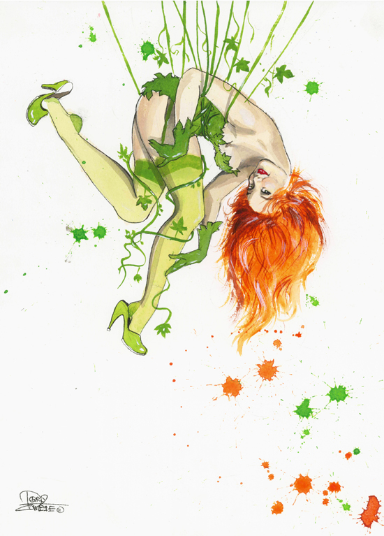 Poison Ivy Pinup