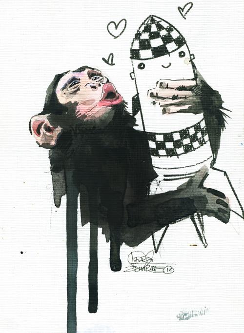 Senseless Monkey