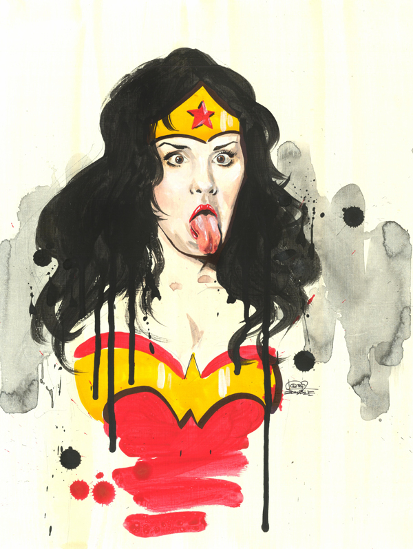 Very Wonder Woman