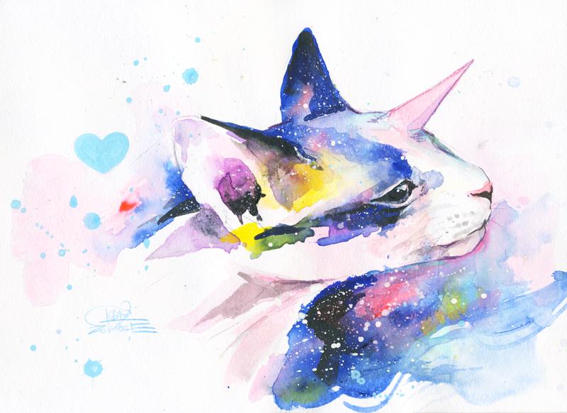 Unicorn Space Cat