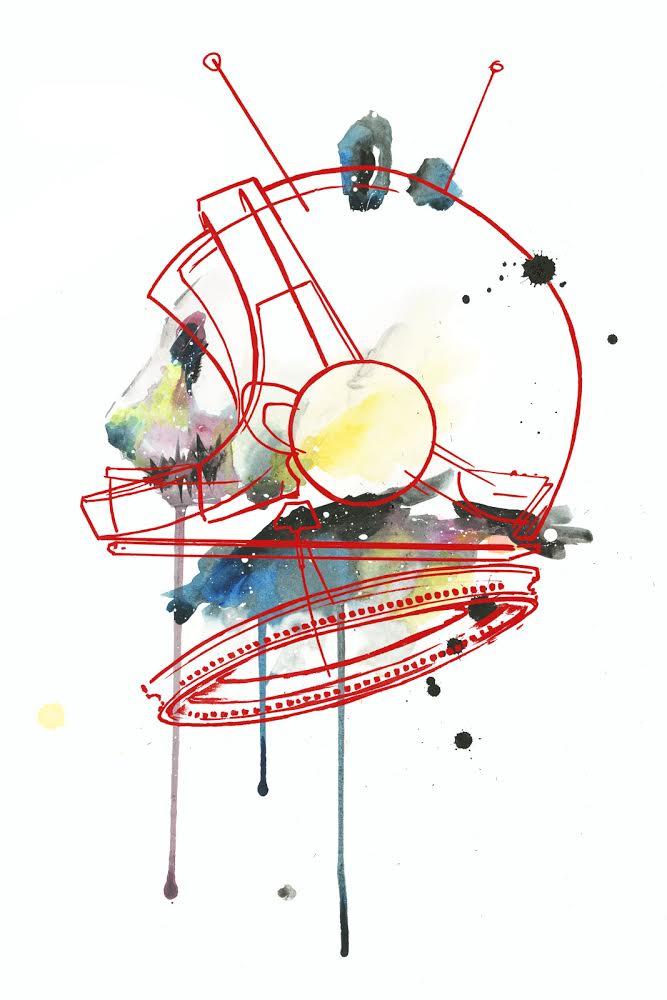 Space Panda (Red)