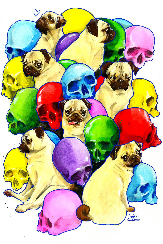 Pugs and Skulls ll