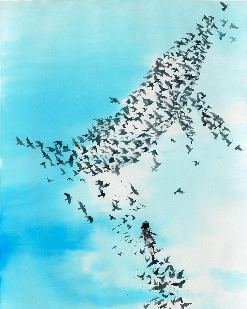 Stairway of Birds