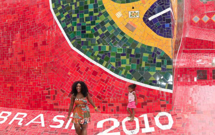 Dash in Rio de Janeiro, Brasil celebrating Carnival in 2010.