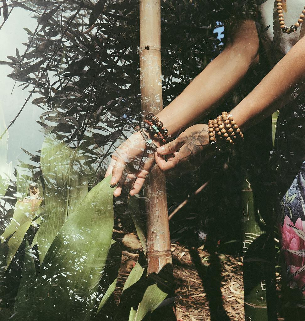 Shot taken from the Alaïa Lux LAlien Lookbook, LA Zoo