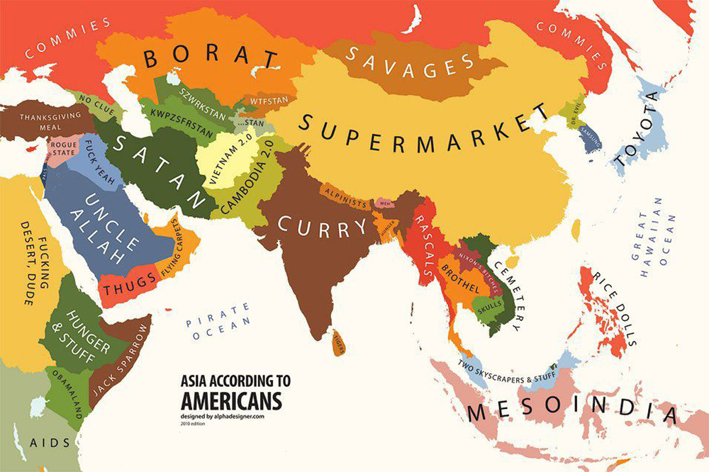 At least the borders are accurate.