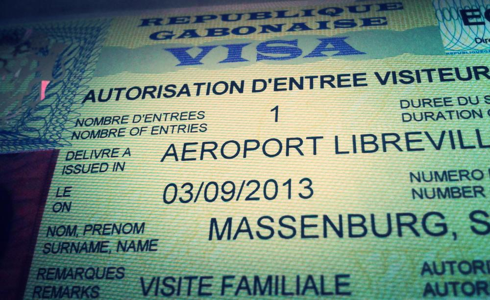 My Gabonese Visa. At last!