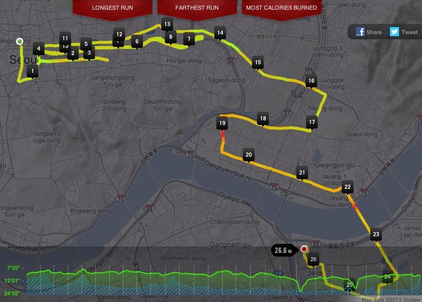 Seoul International Marathon - March 17, 2013