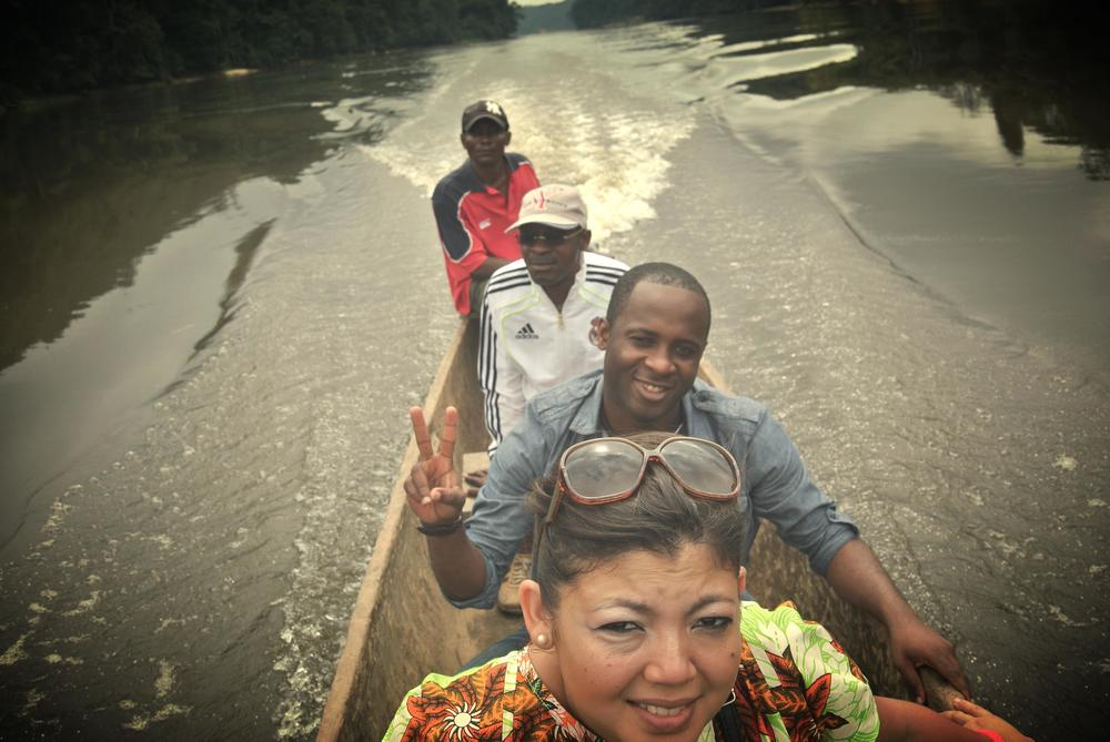 On the Oogué River