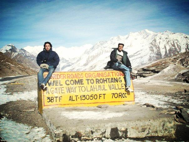@ the Himalayas
