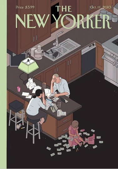 New Yorker cover, October 2010