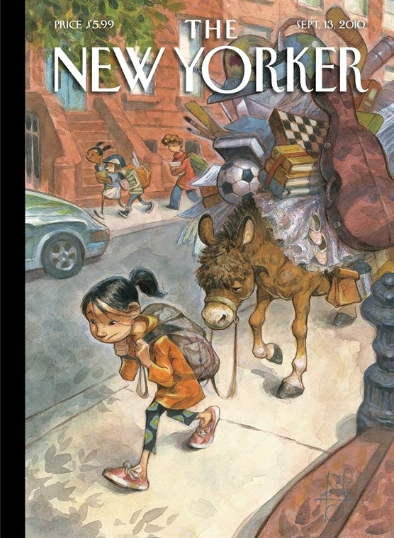 The New Yorker Cover, September 2010