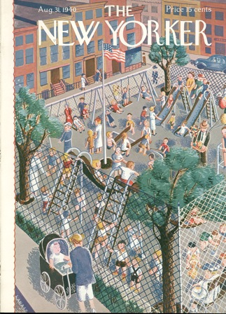 The New Yorker Cover, August 1940