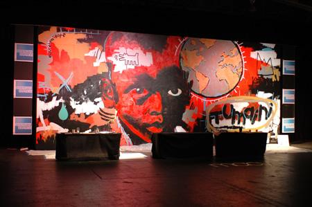 AMEX wall