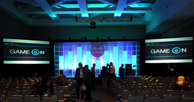 cisco set with screens