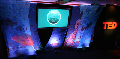 TED Ocean stage