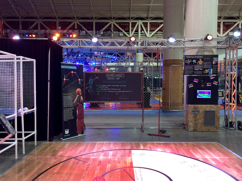 science of basketball STEM zone
