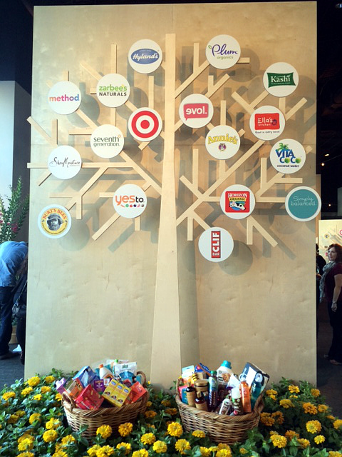 Target made to matter sponsor tree