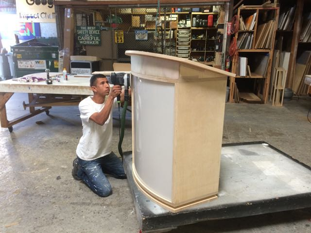 Custom Lectern Fabrication