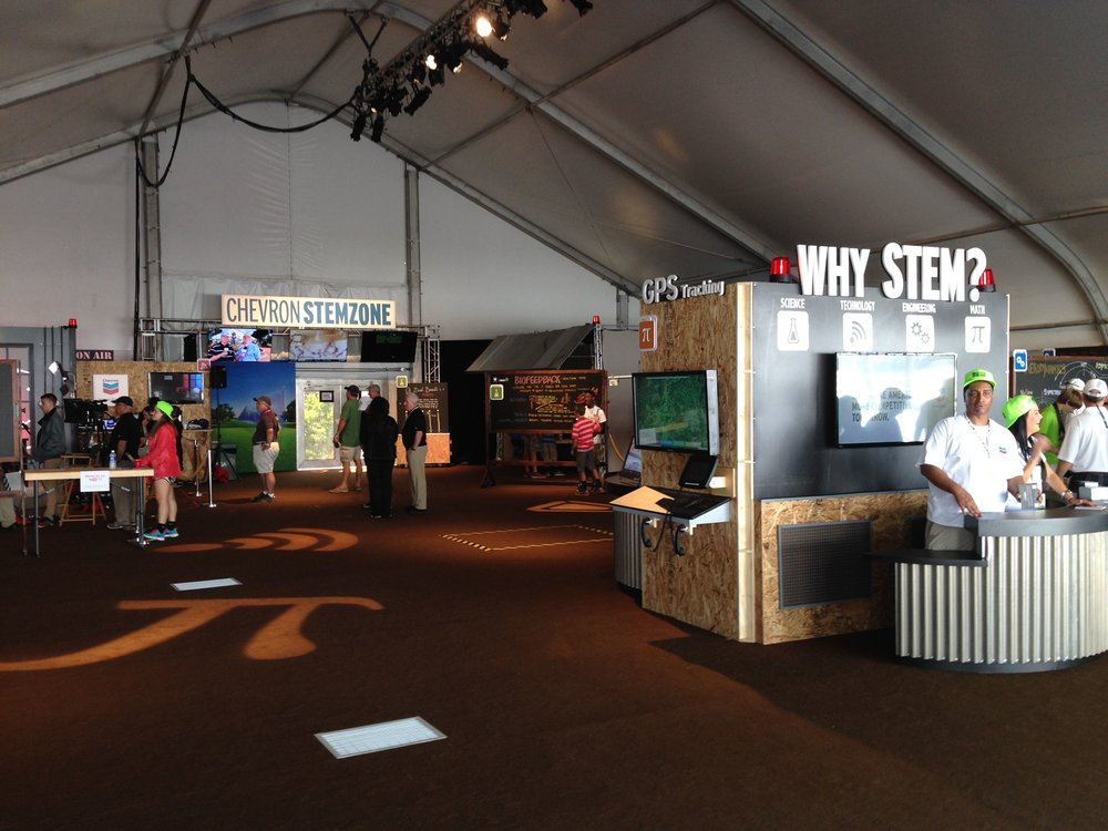 Chevron STEM Zone at US Open 2014