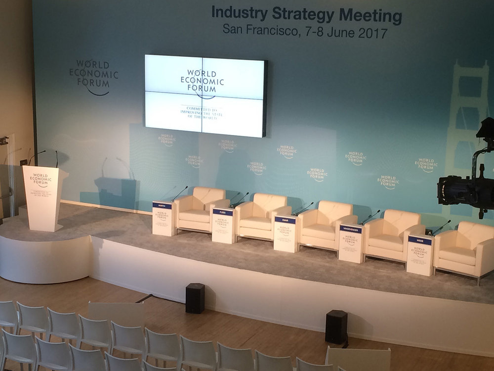 World Economic Forum Custom Stage