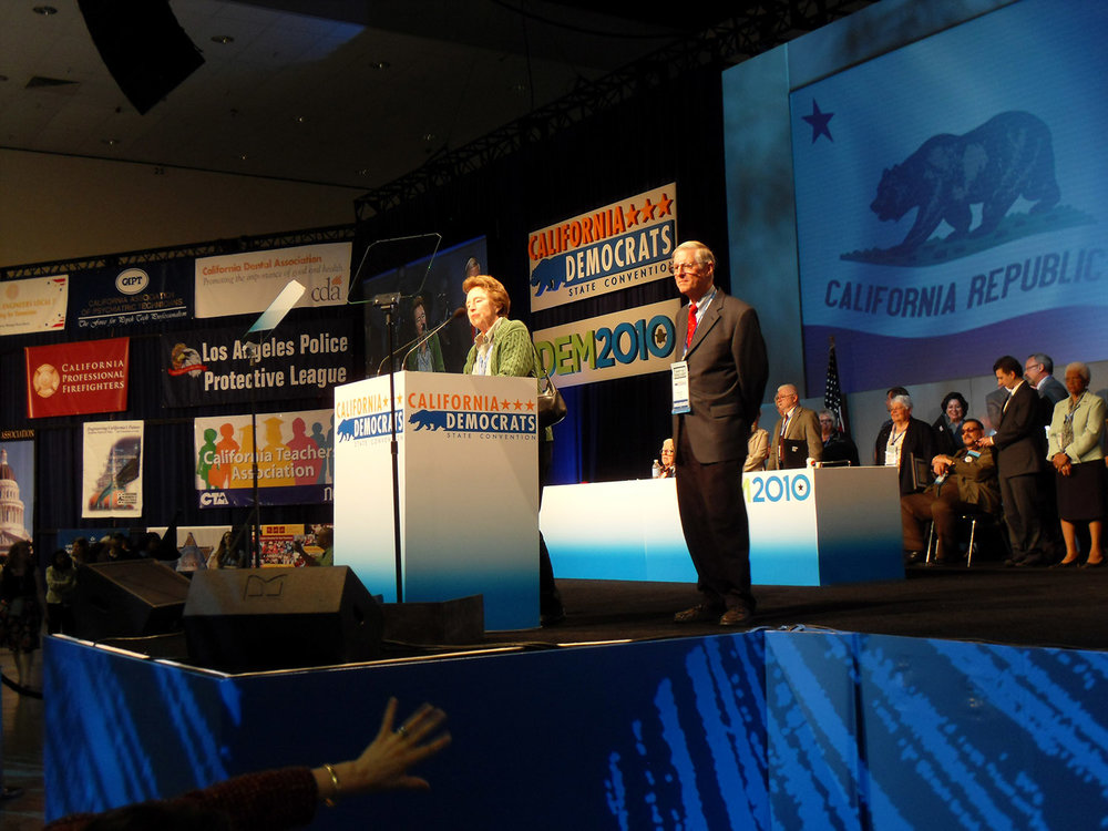 CA Democrats custom furniture