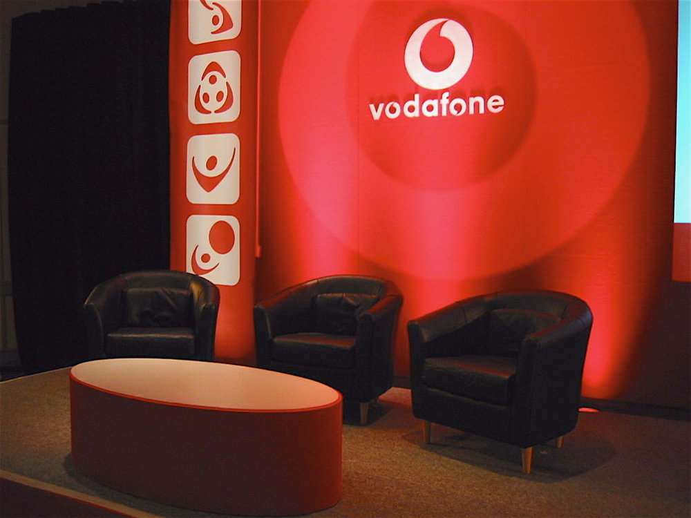 Vodafone stage seating